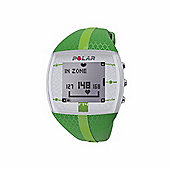 PolarFT4F HRM Heart Rate Monitor Sports Watch Green + Chest Strap