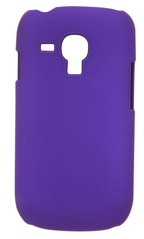 Tortoise™ Look Hard Case Super Thin Samsung Galaxy SIII Mini Purple