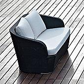 Varaschin Gardenia 2 Seater Sofa by Varaschin R and D - Dark Brown - Piper White