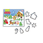 Cooksmart Kids 8 Piece Christmas Cookie Cutter Set