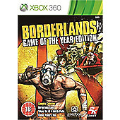 Borderlands - Game of the Year Edition (GOTY) - Xbox-360