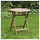 Wooden Folding Bistro Table - Windsor
