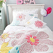Daisy Floral Single Children's Duvet Set