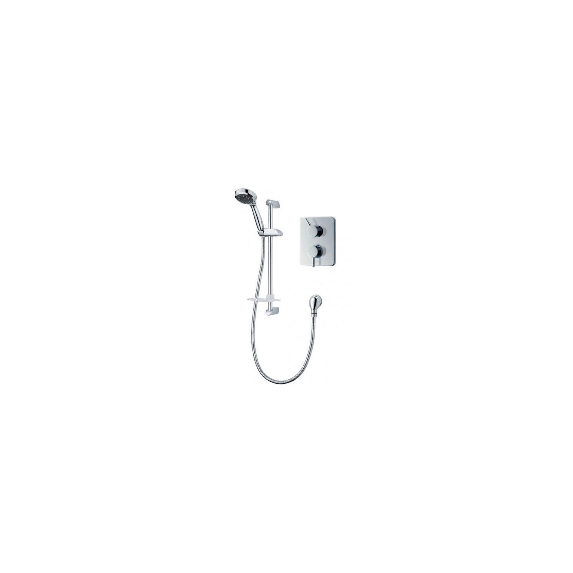 Triton Thames Thermostaitc Dual Control Shower Mixer Chrome at Tesco Direct