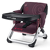 Concord Lima Folding Travel Chair (Raspberry Pink)