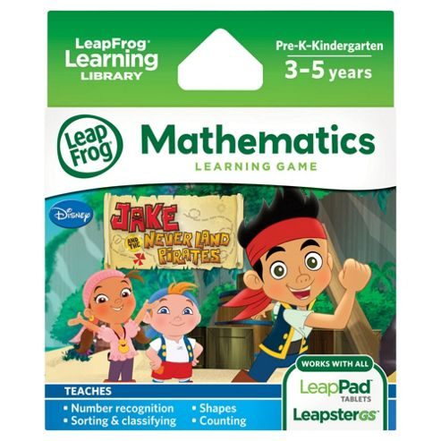 LeapFrog Explorer Learning Game: Disney Jake and the Neverland Pirates