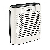 Bose SoundLink Colour Bluetooth Speaker with 8hr Battery Life & 30ft Range in White