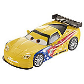 Disney Pixar Cars 2 - Pull Back Racer - Jeff Gorvette
