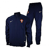 2014-15 Portugal Nike Woven Tracksuit (Navy) - Navy