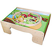 EverEarth Train Table and Farm Train Set