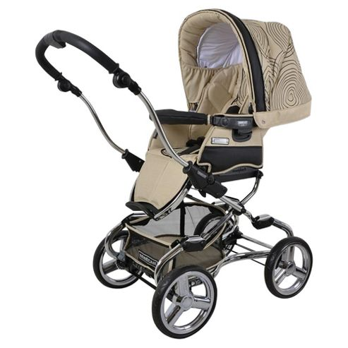 Bebecar Stylo Combination Pushchair, Vanilla Swirl