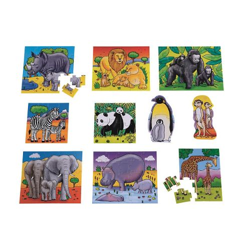 ELC 10 In a Box Animal Puzzles