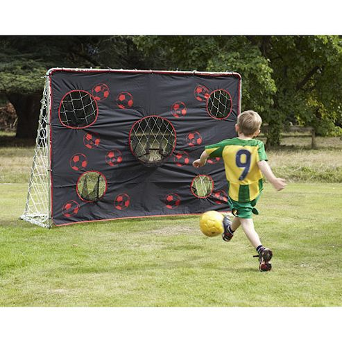 TP36 5' x 7' Super Football Goal Posts with Goal Trainer