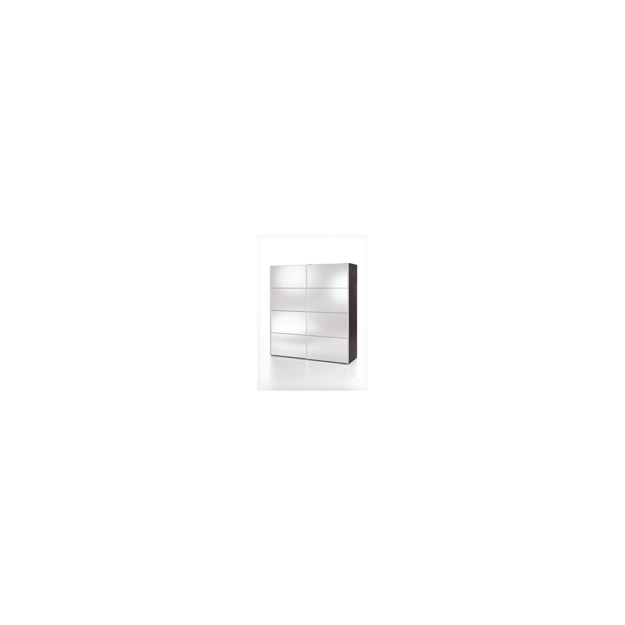 Tvilum Verona Sliding Mirrored Wardrobe - Plum at Tesco Direct