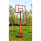 "Sure Shot ""U"" Just Portable Basketball Unit With Acrylic Backboard"
