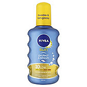 Nivea Invisible Protect Spray Spf10 200Ml
