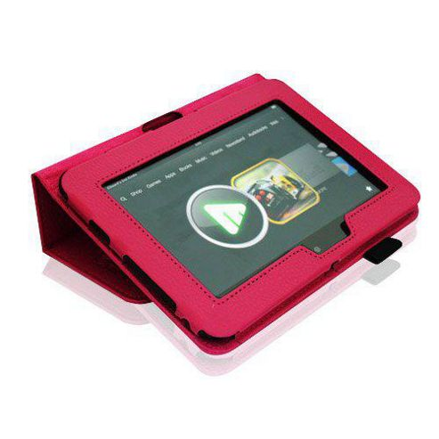 U-bop Neo-Orbit Midi Flip Case Hot Pink - For Amazon Kindle Fire HD 7 inch