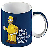 Simpsons Porcelain Single Mug, Navy