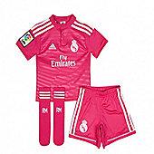 2014-15 Real Madrid Adidas Away Mini Kit - Pink