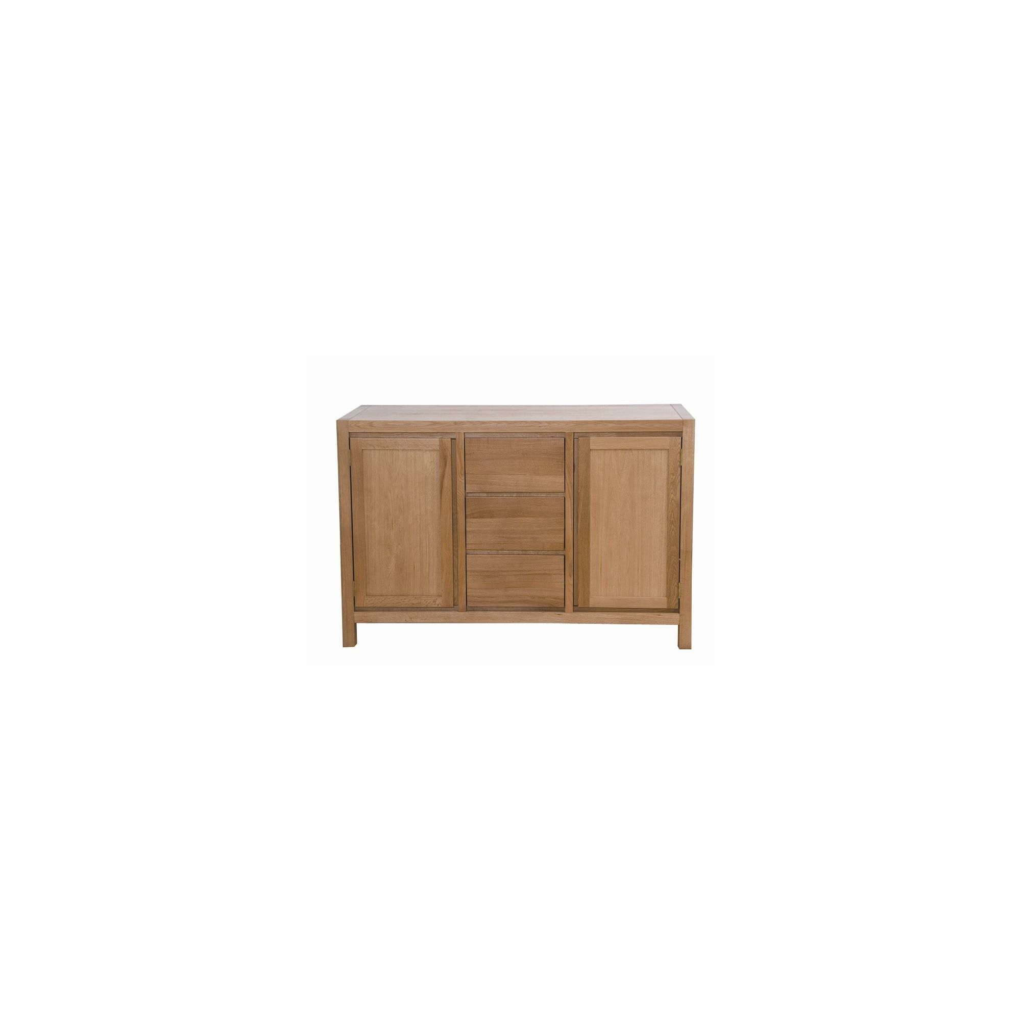 G&P Furniture Large Oak Sideboard at Tesco Direct