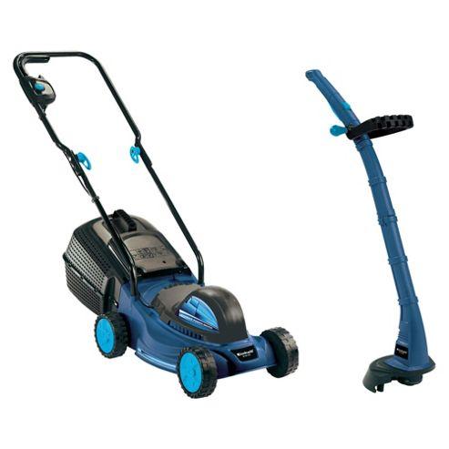 Einhell 1000W lawnmower & grass trimmer twin pack