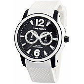 Time Force Alberto Contador Mens Day & Date Watch 4182M-18WA001184