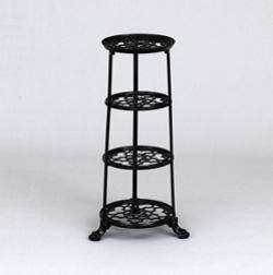 VICTOR Pan Stand in Black - 6 Tiers