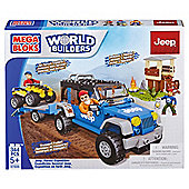 Mega Bloks World Builders Jeep Forest Expedition