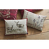 Dreams n Drapes Tatton Patchwork Cushion Cover - Heather 28x38cm