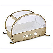 Koo-di Pop-Up Travel Bubble Cot Cafe Creme