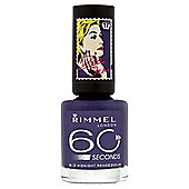 Rimmel London 60 Seconds Nail Polish 613 Midnight Rendezvous