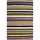 Hill & Co Hammersmith Stripe Rug - 240cm x 170cm (7 ft 10.5 in x 5 ft 7 in)
