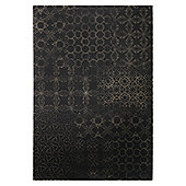 Esprit Hamptons Coffee Brown Contemporary Rug - 140 cm x 200 cm (4 ft 7 in x 6 ft 7 in)
