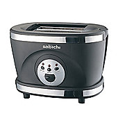 Sabichi Two Slice Toaster in Black