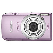 Canon IXUS 210 Digital Camera 14.1MP 5x Optical Zoom 3.5 inch LCD (Pink)