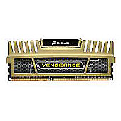 Corsair Vengeance 8GB (2 x 4GB) Memory Kit PC3-12800 1600MHz DDR3 DIMM (Gold)
