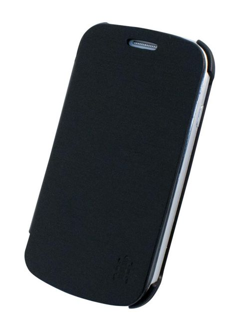 Tortoise™ Ultra Flip Cover Case Samsung Galaxy SIII Mini Black