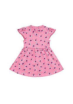 Mothercare Newborn's Ladybird Print Dress Size 6-9 months