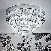 Endon Lighting Four Light Ceiling Light in Polished Chrome
