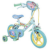 "Peppa Pig George 12"" Kids' Bike with Stabilisers"