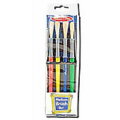 Melissa And Doug Medium Paint Brush Set