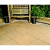 The Real Paving Company Nouveau Paving Random Patio Kit 14Sqm York Gold
