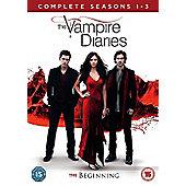 Vampire Diaries 1-3 (DVD)
