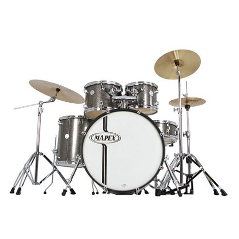 Mapex Horizon Drum Kit - Grey Sparkle