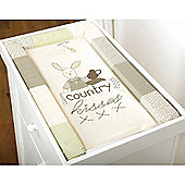 Silver Cloud Country Kisses Changing Mat (Natural)
