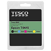 Tesco E615 Multipack (Compatible with printers using Epson T0615 ink cartridge)
