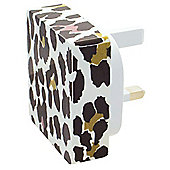Style by MiTEC Universal Mains Charger Animal Print 2amp
