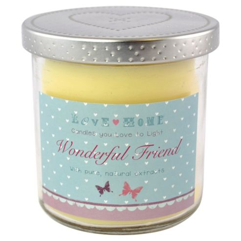 Wonderful Friend Candle