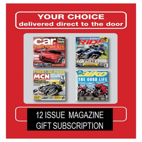 Bikes & Cars Multipack Subscription Gift Pack