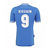 2013-14 Napoli Authentic Home Shirt (Higuain 9) - Blue